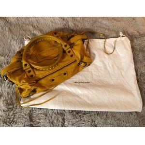 Balenciaga Yellow Handbag